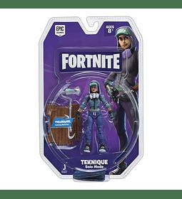 Fortnite - figura  de Teknique Coleccionable+Accesorios,