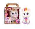 Rescue Runts Kids Unicornio Blanco con Melena Rosa