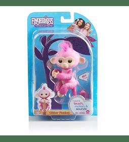 Fingerlings Glitter Monkey Rosa