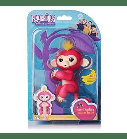 Fingerlings Monkey interactivo Bella