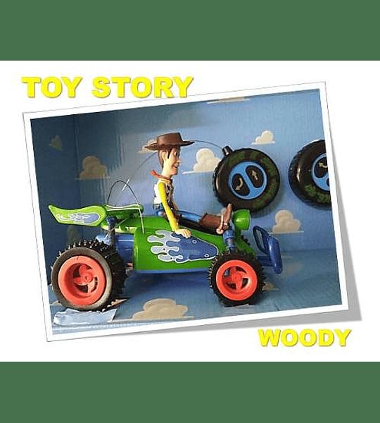 Toy Story Auto Control Remoto Buzz Y Woody - Disney PIXAR