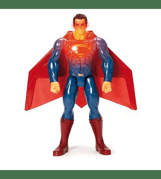 SUPERMAN - FIGURA DELUXE CON LUCES Y SONIDOS