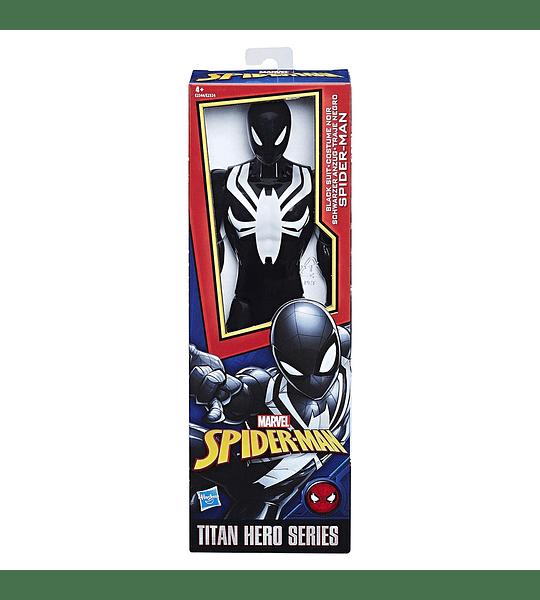 Spider-man traje Negro Marvel
