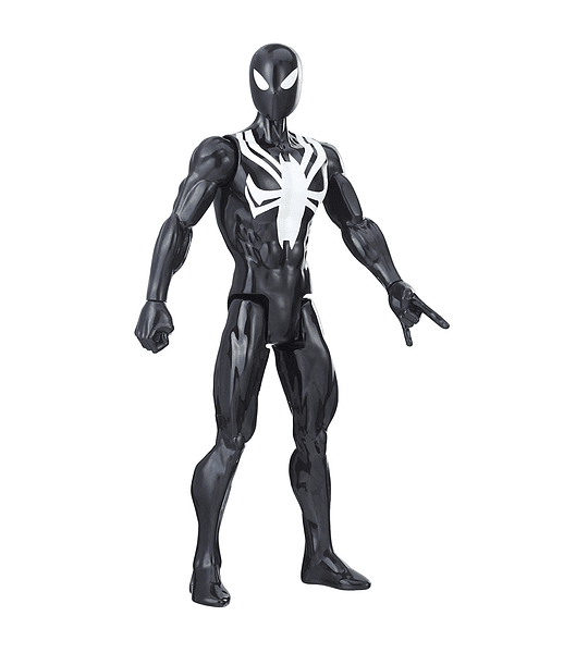 Spider-man traje Negro Marvel