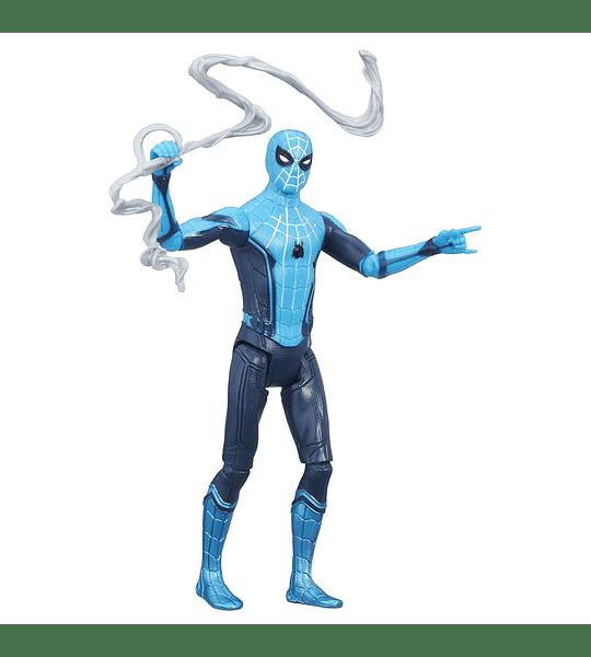 Spider-Man traje Celeste Marvel