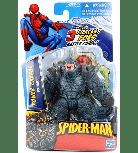 Rhino Ataque brutal con armadura año 2009 (colección premium) Spider-Man