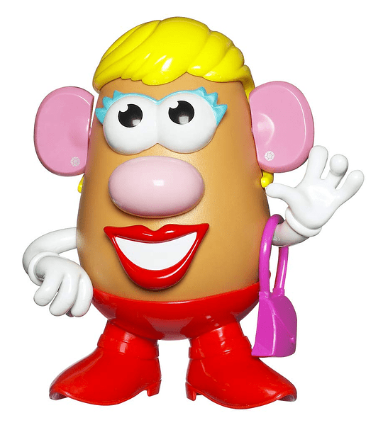 Señora cara de papa 12 piezas - (PlaysKool Hasbro)
