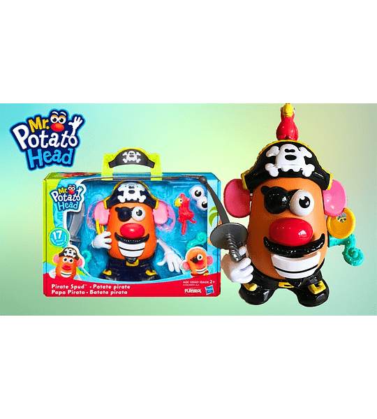 Señor cara de papa 17 piezas el Pirata ( PlaysKool - Hasbro)