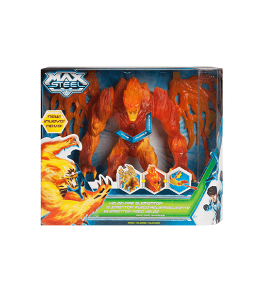 Max Steel - Elementor Fuego Relampagueante
