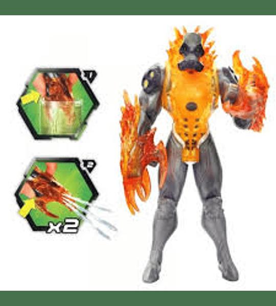 Max Steel - Toxzon Explosión Química año 2011 de Colección