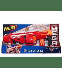 Nerf - Lanza Dardos Mega Rotofury (Hasbro)