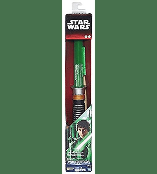 Star Wars - Espada láser electrónico de Luke Skywalker