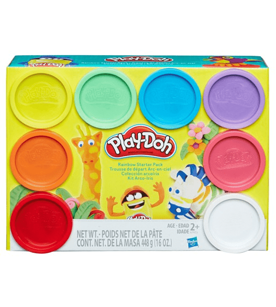 Play-Doh pack de 8 colores