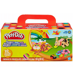 Play-Doh Pack de plasticina de 20 colores