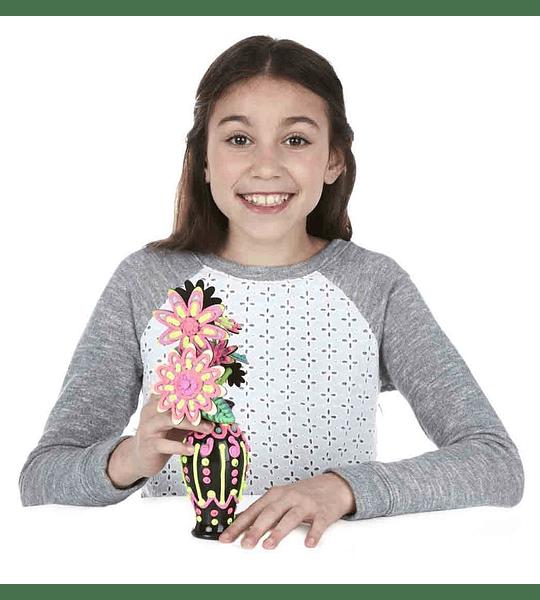 DohVinci jarrón de flores