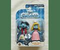 Pitufos - Pitufina y  Pintor pack de 2 figuras (The Smurfs- Los Pitufos)