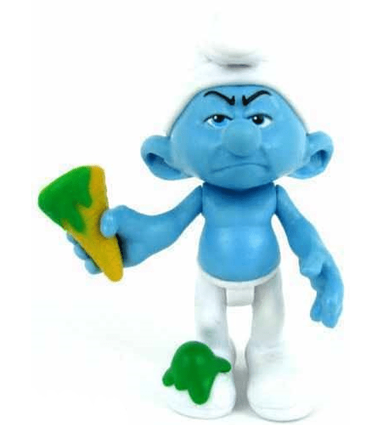 Pitufos - Figura de Gruñon (The Smurfs - Los Pitufos)