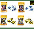 Mega Bloks - Legos  vehículos 3 a 4 en 1 - bloque de construcción.