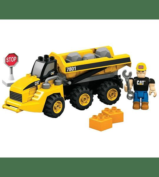 Mega Bloks - Camión volquete articulado CAT