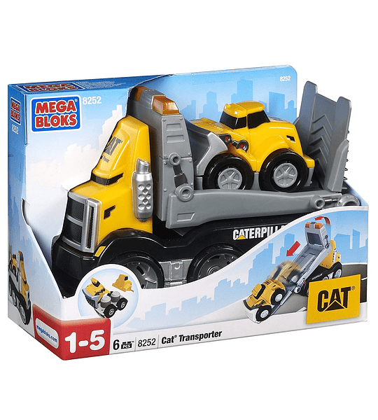Mega Bloks - CAT Construction