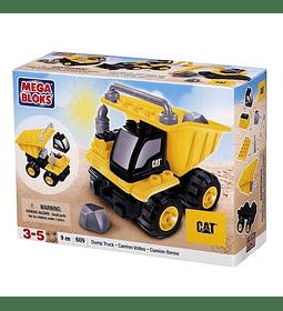Mega Bloks - CAT Dump Camion Volteo