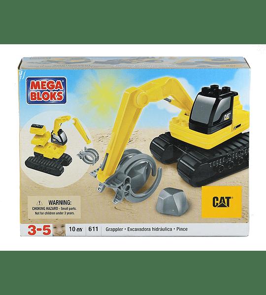Mega Bloks - Cat  Retroexcavadora
