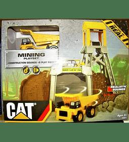 Cat - Set de Minería con Sonido 8 piezas