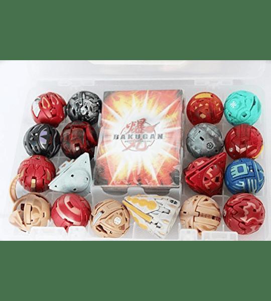 Bakugan - Guarda Maleta con 1 bakugan (Spin Master)