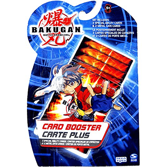 Bakugan -  Set de 5 Cartas