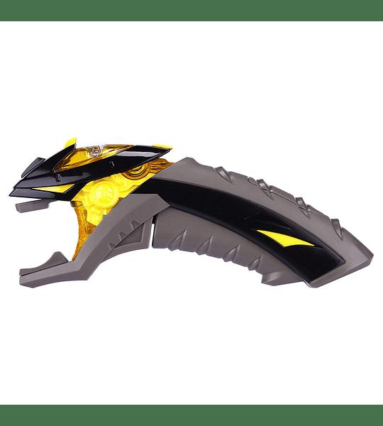 Monsuno - Lanzador Amarillo con Luz