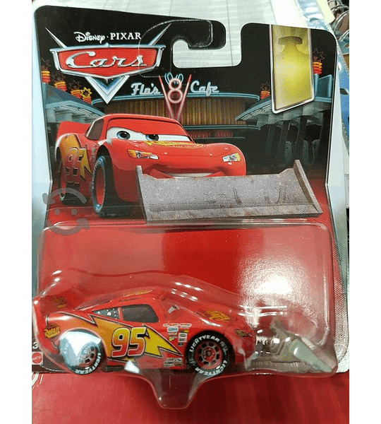 Cars - Rayo McQueen con Pala