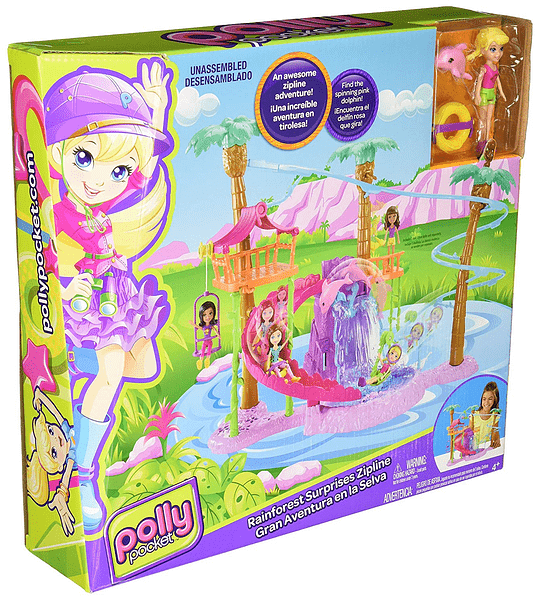 Polly Pocket - Gran Aventura en La Selva