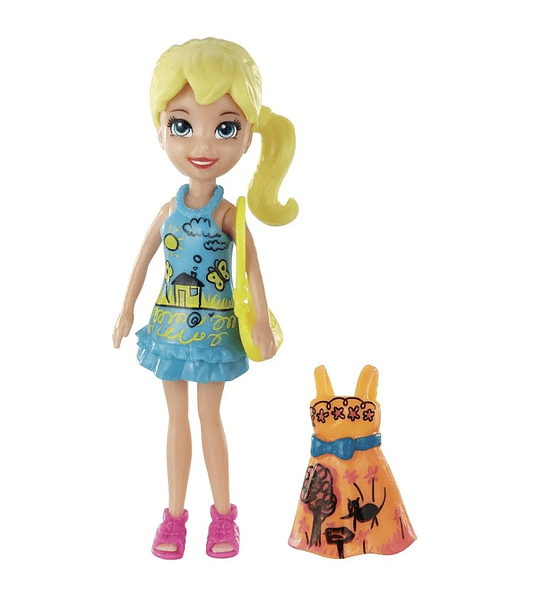 Polly Pocket Figura Polly - Mattel