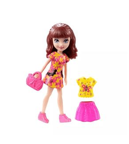 Polly Pocket Figura Lila - Mattel