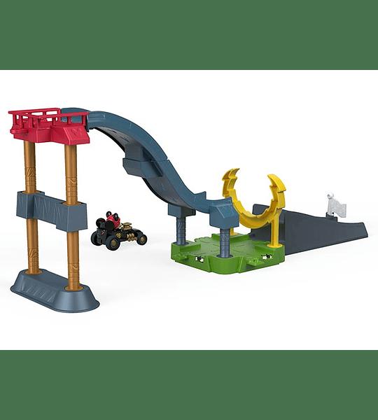 Mickey - Pista salto acrobático Fisher-Price