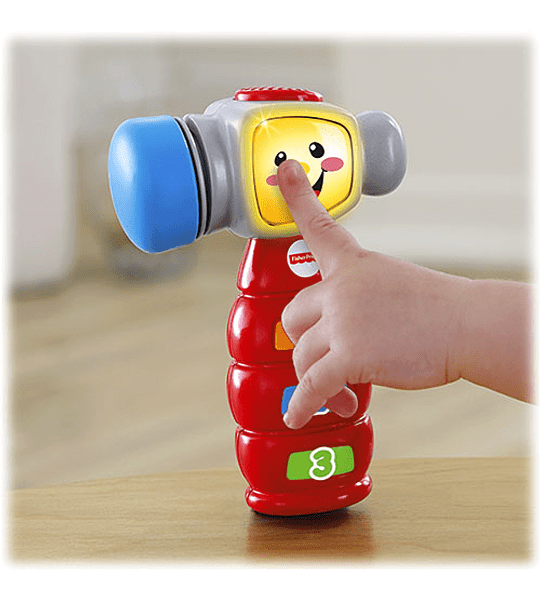 Martillo de Aprendizaje Ríe y Aprende Fisher-Price
