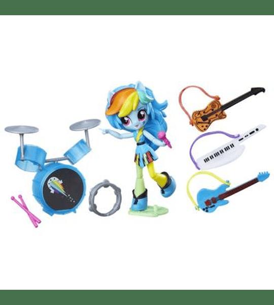 My Little Pony Rainbow Dash Clase De Música Rock