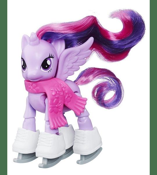 my little pony patinaje sobre hielo Articulada