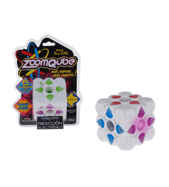 Cubo Zoomqube Con Luz Y Sonido Ingenio