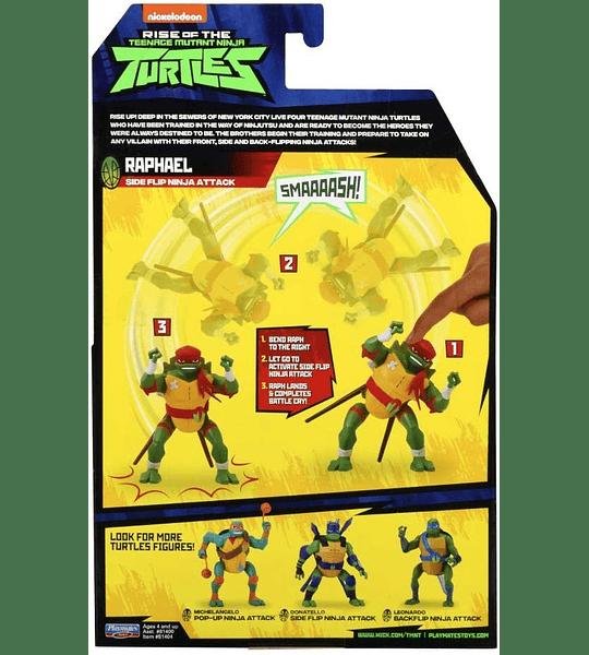 Tortuga Ninjas Rafael  - The Rise Deluxe Figuras de acción