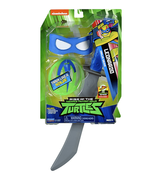 Tortuga Ninja Leonardo Accesorios