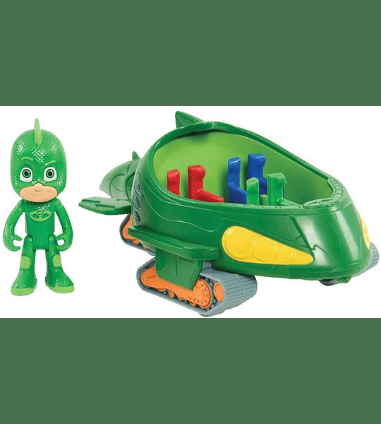 PJ Masks Vehículos Gekko Móvil y Gekko Bandai