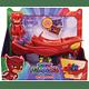PJ Masks Vehículos Búho Deslizador Móvil y Búho Bandai