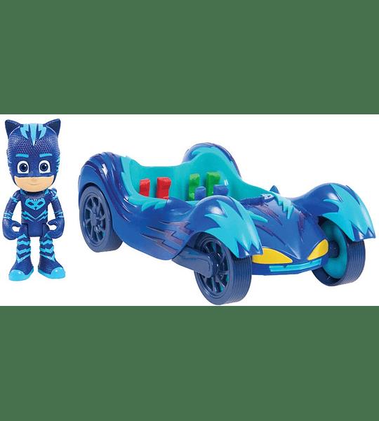 PJ Masks Vehículos Gato Móvil y Gatuno Bandai