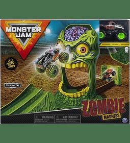Monster Jam  Zombie - Playsets acrobacias 1:64