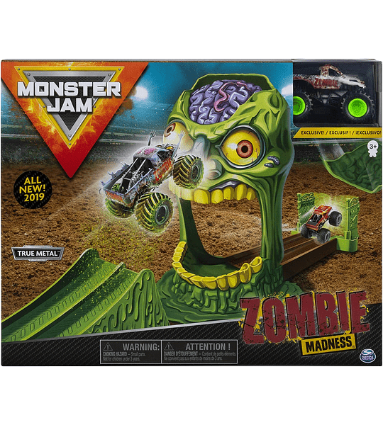 Monster Jam  Zombie - Playsets acrobacias 1:64