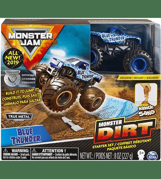 Monster Jam -  Set de Arena Kinetica  Blue Thunder