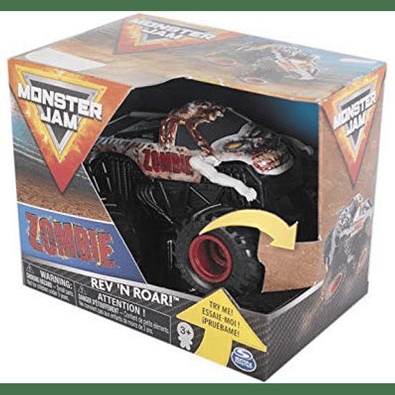 Monster Jam Zombie Rev 'n Roar Spin Master