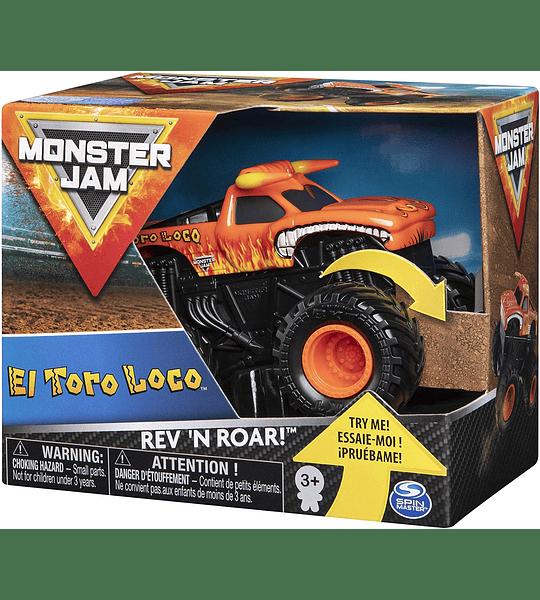 Monster Jam El Toro Loco Rev 'n Roar Spin Master