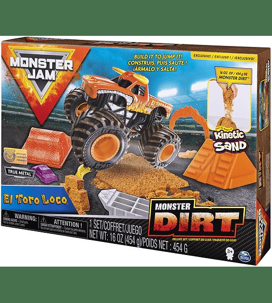 Monster Jam  - El Toro Loco Monster Dirt Deluxe Set escala 1:64